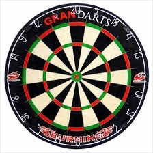 GRAN DARTBOARD - STEEL TIP - PROFESSIONAL - BURNING