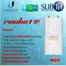 Ubiquiti Rocket M5 AirMax Outdoor 5GHz WiFi Base Station UBNT Malaysia