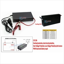 Suoer 12V 10A PWM Smart Battery repair Charger 3 Charging Mode SON-1210 Multi