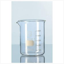 DURAN® Glass beaker, low form, with spout 250ml / Bikar