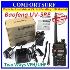 ORIGINAL Baofeng UV-5RE 5W 128CH VHF/UHF Walkie Talkie UV5R 2Way Radio