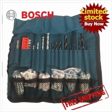 [FREE SHIPPING] BOSCH 100pcs accessories Screw Driver  & Drill Bit Set