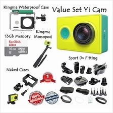 ***PROMO FULLSET Xiaomi Xiaoyi Yi Cam International Action Cam Fullset
