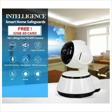 HD 720P Wireless Security IP Camera Audio, Night Vision & Alarm Sirens