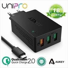Aukey 42W Qualcomm Quick Charge 2.0 3USB Travel Desktop Charger