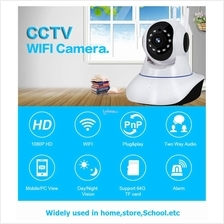 WiFi Motion Sensor 960P IP Camera Loud Panic Siren Alarm System