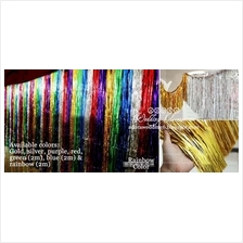 4x Backdrop - Good Quality Foil Curtain (Party/wedding)