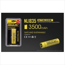 Nitecore 18650 Li-ion 3500mAh Rechargeable Battery (NL1835)
