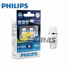 12799 GENUINE Philips X-treme Ultinon LED T10 6000K 6700K 50lm