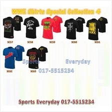 WWE WWF T Shirt Special Collection 4 Baju WRESTLING GUSTI