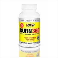 Burn 360 Fat Burner 72tabs (Bakar Lemak+Anti Oxidant + Green Coffee)