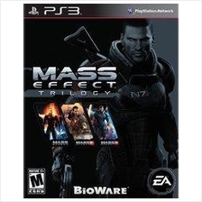 Mass Effect Trilogy (1,2,3) PS3