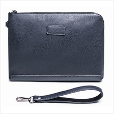 Men Casual PU Leather Clutch Bag Wallet