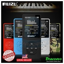 RUIZU X02 MP3 Player Voice Recording Radio FM Video Ebook