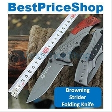 Browning Strider Tactical Hunting Emerson Folding Knife Camping Blade