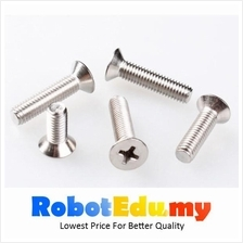 Stainless Steel Flat CSK HD Philip M3 Screw / Bolt -5 10 16 20 30 50mm