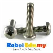 Stainless Steel Round Pan HD Philip M3 Screw /Bolt -5 10 16 20 30 50mm