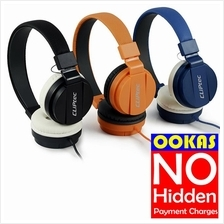 CLIPTEC Foldable Stereo Headset/Headphone for Mobile BMH830