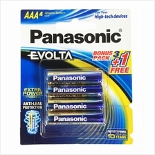 Panasonic Evolta Alkaline Battery LR03EG/4B1F AAA x 4pcs Packing