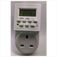 DIGITAL TIMER PLUG 12/24 HR 7 DAY 20 SETTING ES-01WDT