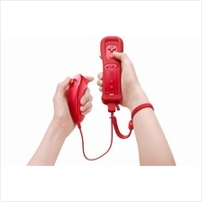 Wii Red Color Remote with Nunchuk