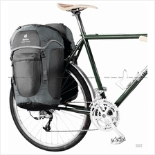 Deuter Rack Pack - black-granite - Bike Pannier - Ortleib Quick Lock