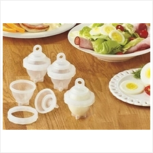 Hard-Boiled Egg Cooking Capsules (6 Units)