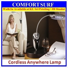16 LED Cordless Anywhere Lamp With Flexible Neck + Adjustable Height
