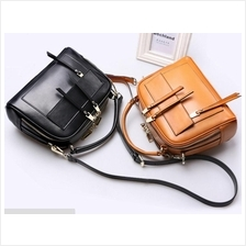 Women Lady High Quality Cowhide Leather Sling Shoulder Bag Tote