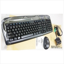 Logitech EX110 Wireless Keyboard & Mouse Combo set (stock clearance)