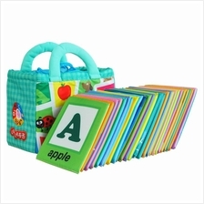 Baby Kids A to Z Alphabet Cloth Book Learning English & Mandarin
