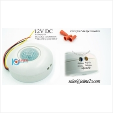 PIR Motion Activated Infrared sensor Lighting control 12V DC Solar LED