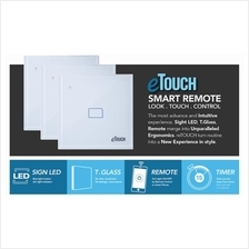 E-Touch Smart Home Glass Touch Switch with Remote Control