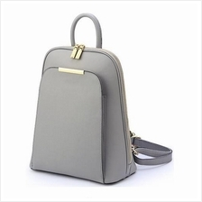 Women Lady Girl PU Leather Backpack Sling Shoulder Bag Handbag