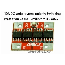 DC Auto polarity switching reverse polarity protection diod board 10A