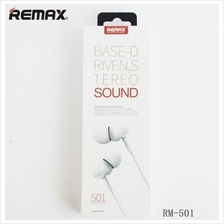 Remax RM-501 In-Ear Earphone Handsfree Headset BASS ALL Mobile