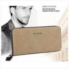 CV41 FASHIONABLE HIGH QUALITY CANVAS MEN'S WALLETS