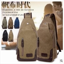 CV36 Canvas Shoulder Pouch Crossbody Hiking Travel Shoulder Bag