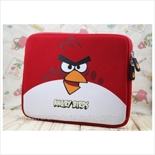 Angry Birds Red Bird Green Pig Soft Sleeve Bag for Apple iPad 1 2 New