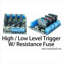 4 Channel 3.3V/5V Omron Solid state Relay board Low Level Trigger Raspberry Pi