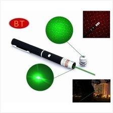 Star Cap High Power Laser Pointer Pen 2in1 5mw Powerful Laser