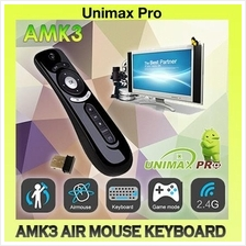 AMK3 AIR MOUSE KEYBOARD - CS918 M8S ZIDOO HIMEDIA TV BOX MI XIAOMI T2