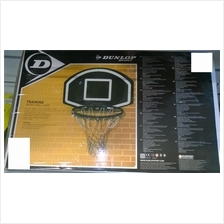Dunlop Basketball Board and Net (Papan dan jaringBola Keranjang)