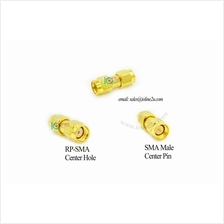 Low loss RP-SMA Male/Female to SMA Male adapter Converter 3G 4G WIFI Radio