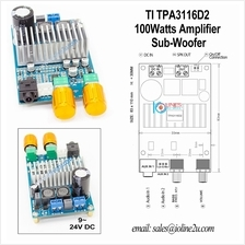 Ti TPA3116 100W Sub-woofer Bridge Mono Digital Audio Amplifier 12V 24V