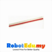 Electronic Component - Straight Male Pin Header 1x40ways (Red)*