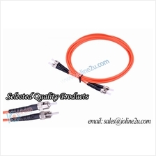 ST-ST Multi mode Multimode 3m duplex fiber optic cable patch cord 62.5/125 OM1