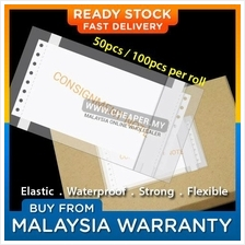 100 pcs / 50 pcs Consignment Note Courier Address Plastic Flyer Pocket