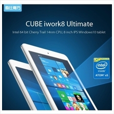 8' Cube Iwork8 Ultimate Intel X5 Z8300 HD IPS 32G 2G Dual OS tablet PC