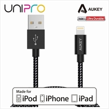 Aukey CB-D16 Apple MFi Ultra Durable Nylon Lightning Cable for Apple iPhone iP